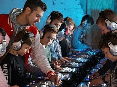 DJ Workshop voor kinderen - djproducer.school