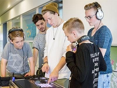 Workshop muziek produceren - djproducer.school