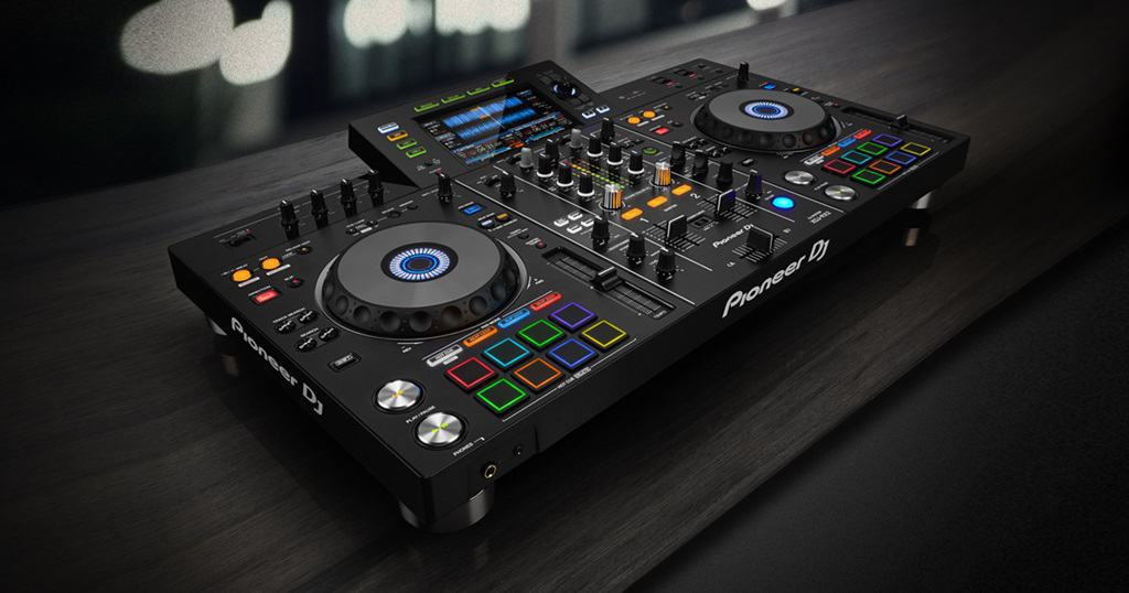 DJ Workshop op Pioneer XDJ-RX2