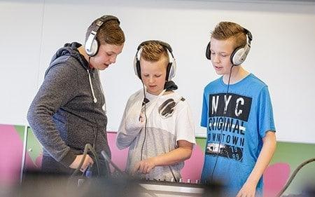 DJ workshop op jouw middelbare school